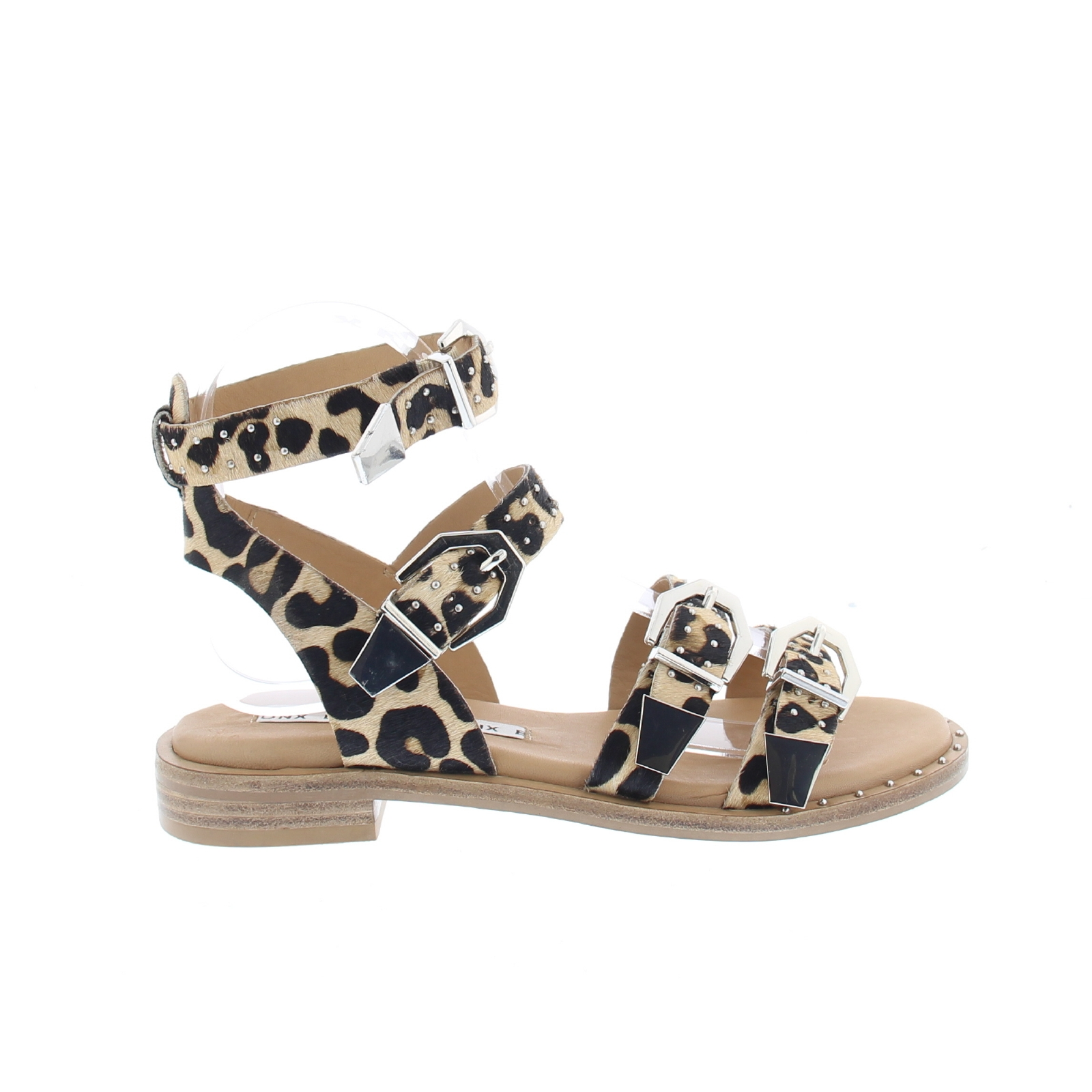 Pony Lof Boutique Sandals Leopard 534AjRL