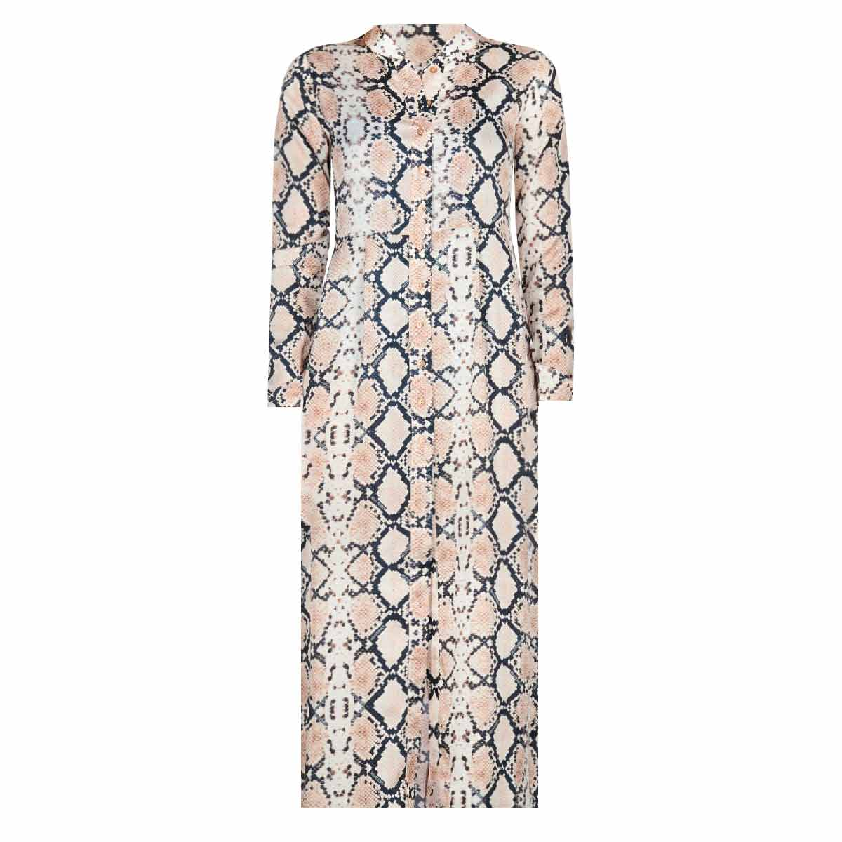 8b8f1d462c050a REINDERS BLOUSE DRESS SNAKE - LOF Boutique