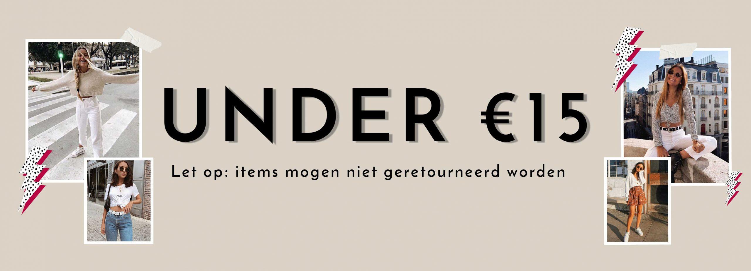 Under €15